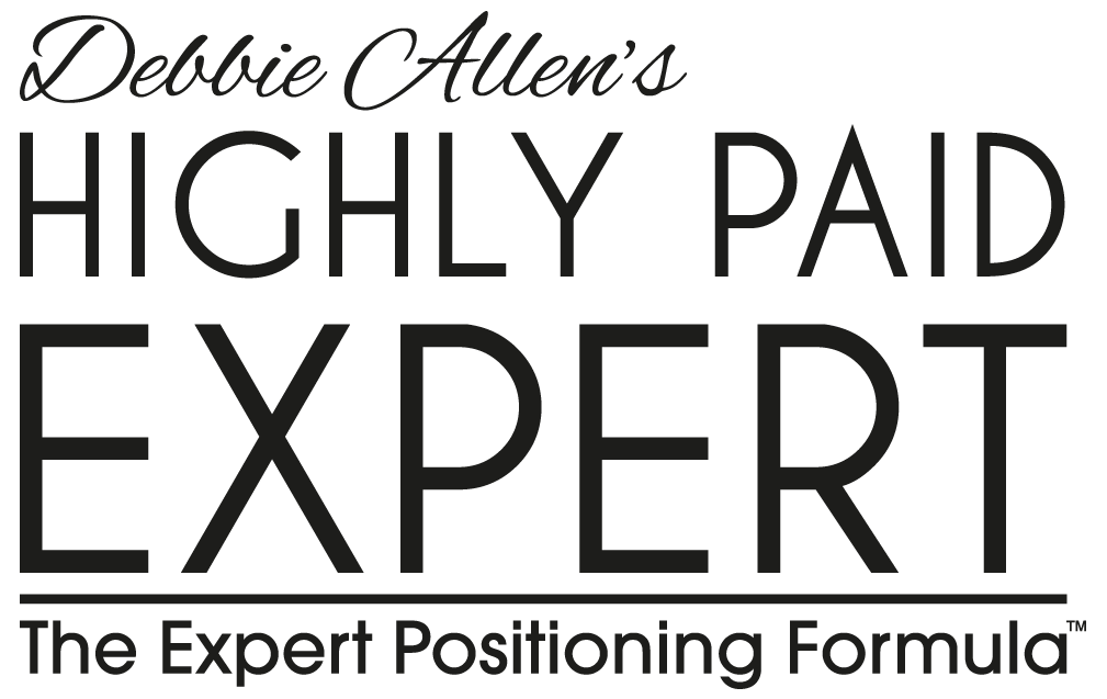 Debbie Allen's Highly Paid Expert logo